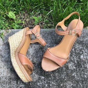 Franco Sarto Dorian Espadrille Sandal Size 7